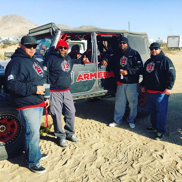Armeda Team at King of the Hammers. #stankeye #kingofthehammers #gowheelin #offroad #jeep #jku #jk #dtr #desertturtleracing