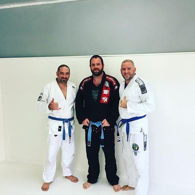 #WCUS Jiu Jitsu with @kikodoran and @justinmazzi at @rootsathletics. New tradition? I think so!!