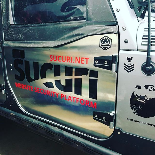 If you didn't know...you need website security! @sucurisecurity @projectstankeye @armedallc #kingofthehammers #vinyl