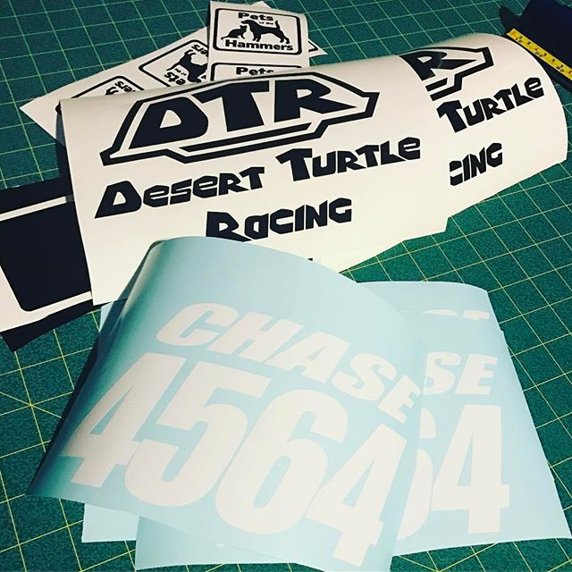 Vinyl Decals for King of the Hammers.