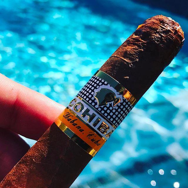 Godfather smoke! #cohiba #cuban #habanos