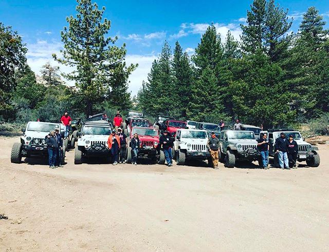 Red Team. Jeep Jamboree Big Bear 2017. #25anniversary