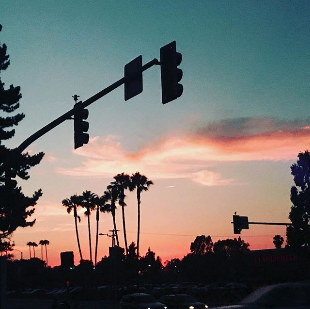 Stoplight Sunset