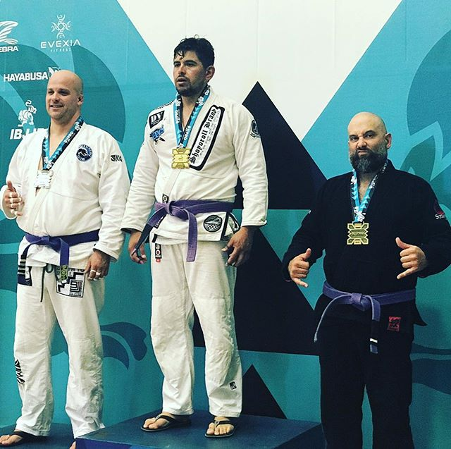 I got a medal for showing up. I will do better! #bjj #ibjjf #purple #carlsongracieteam #menifee #stankeye