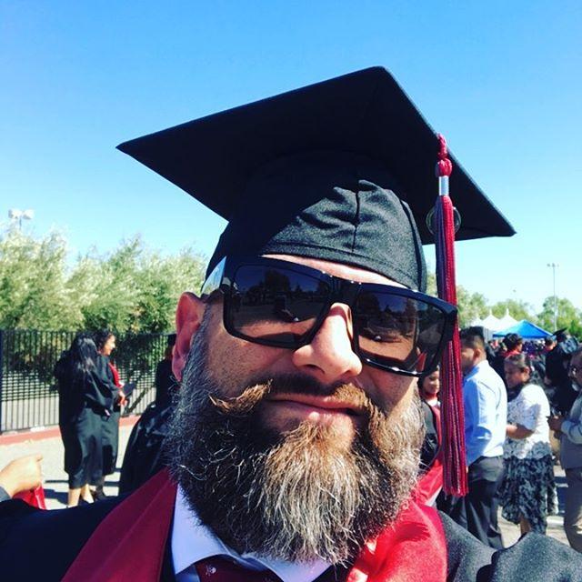 Happy Graduate Stank! #UoP #BSM #SoCalPhoenix #StankEye