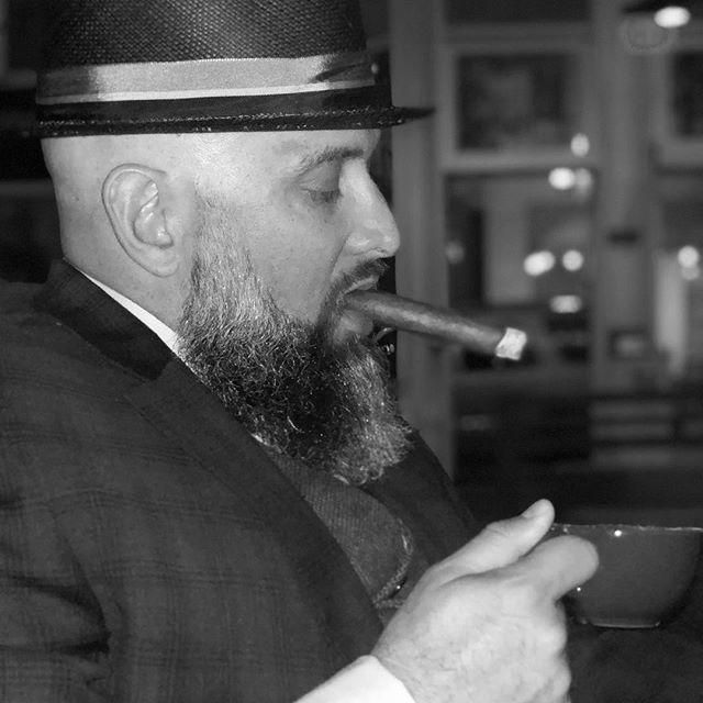 What? I'm Cuban! #cigar #stogie #espresso #gaslamp