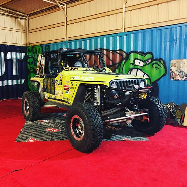 Prepped and ready for race day. We just fired her up and the boys are hopping in to take her to line up. Wish us luck! #desertturtleracing #kingofthehammers #emc #4564