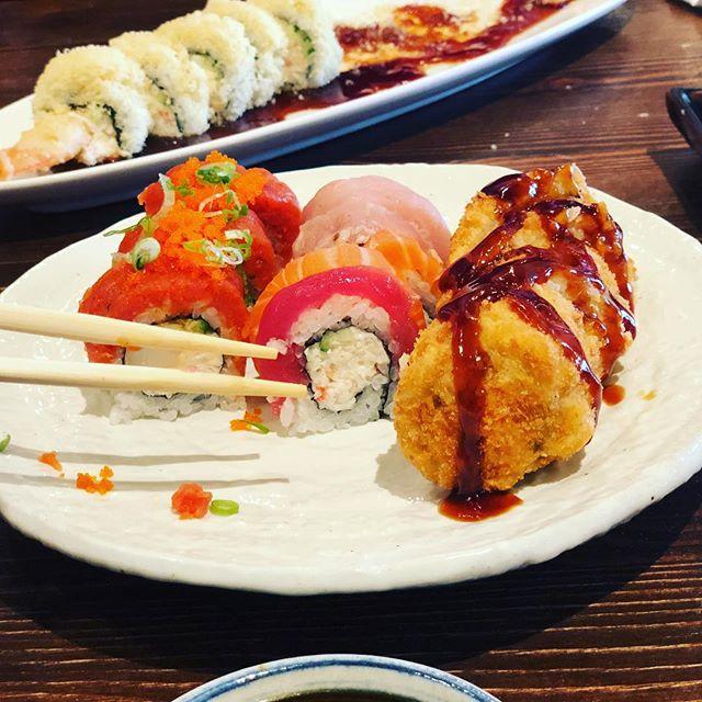 Hana with Hannah :) #sushi #lunch #menifee