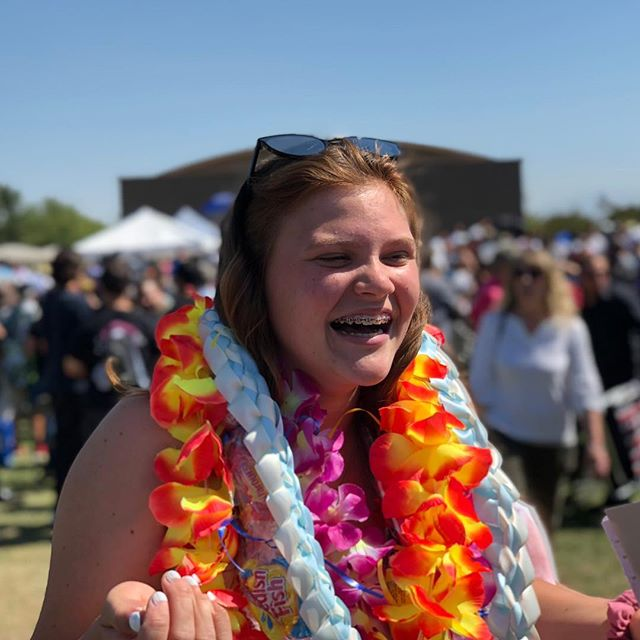 Always smiling. Off to high school you go kid. You did it! Congratulations! I love you to pieces, Emma-Doo!
