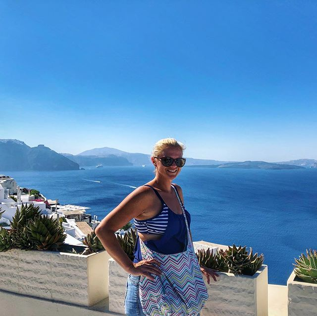 The Beauty in Santorini.