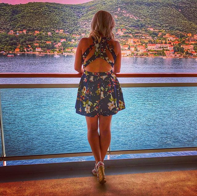 Leaving Montenegro.