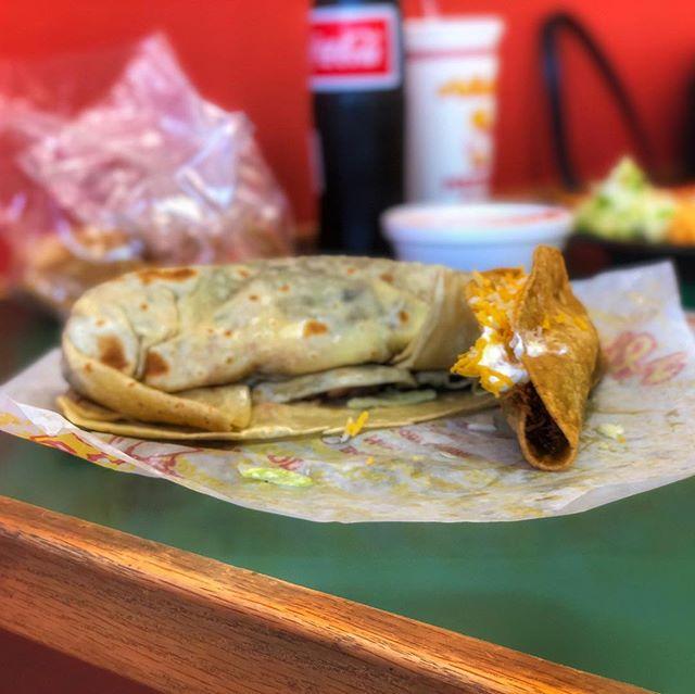 Birthday Brunch #taco #burrito #Albertos