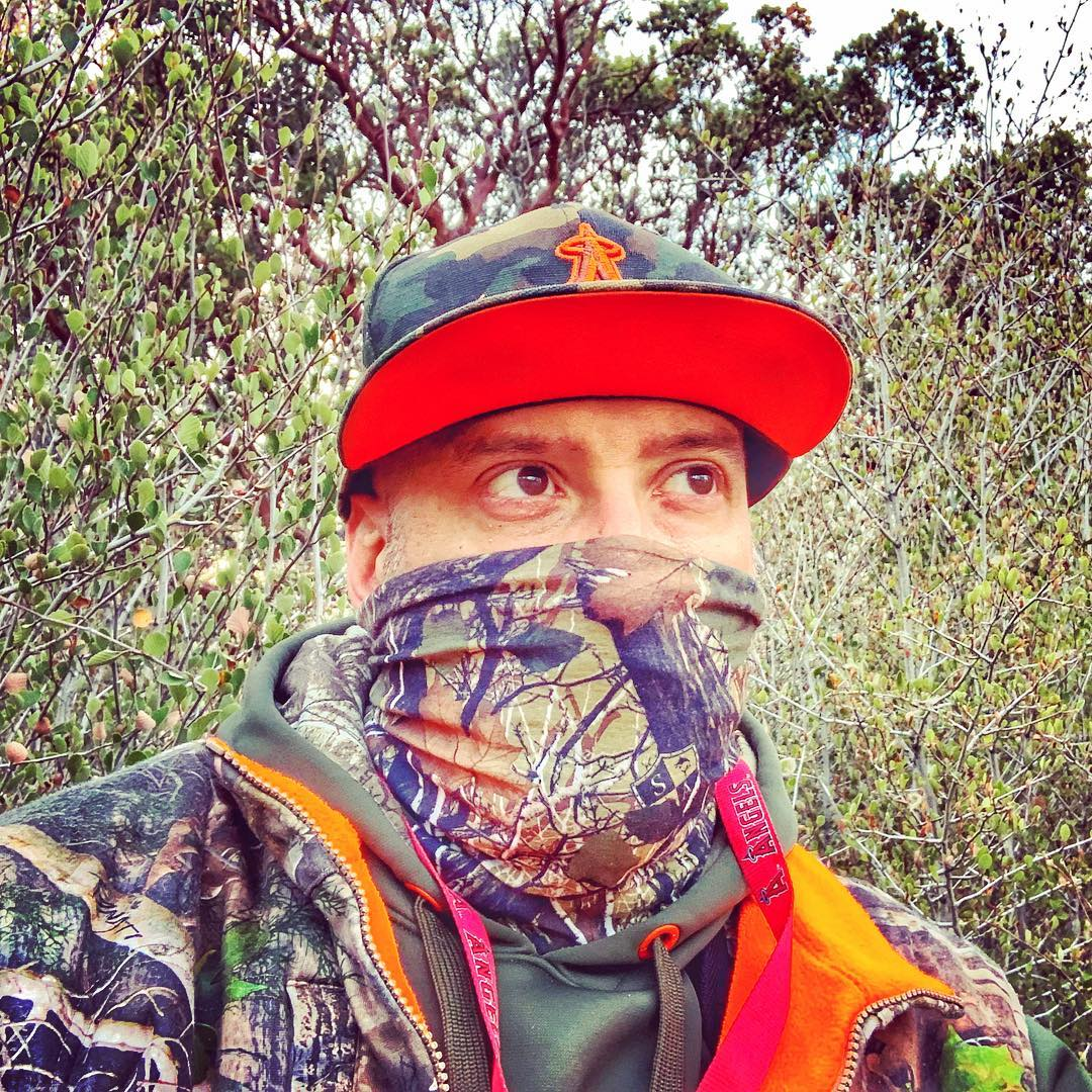 Looking at Monday like when's hunting season?