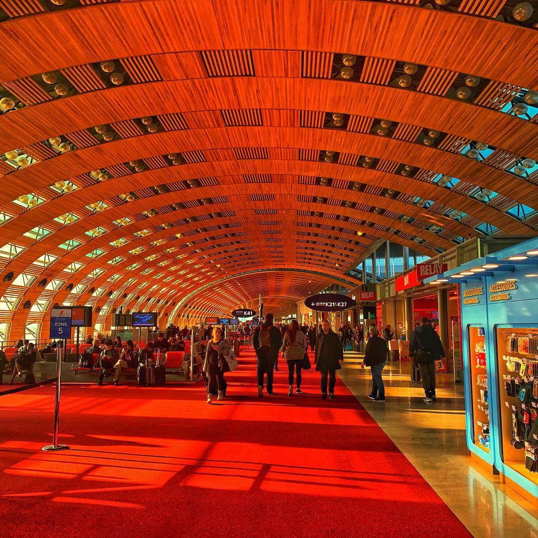 Charles de Gaulle Airport K43