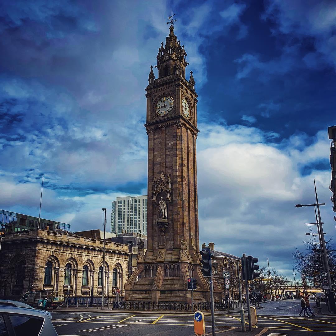 Albert Memorial Clock, Belfast.