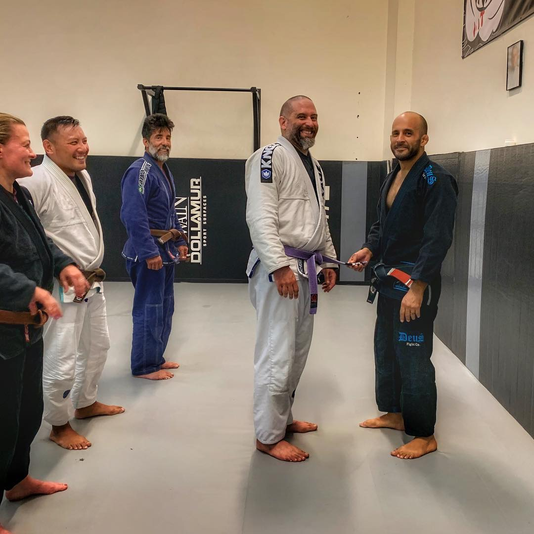 Received my third stripe. Thank you, Professor! Thank you, team! I'm humbled.