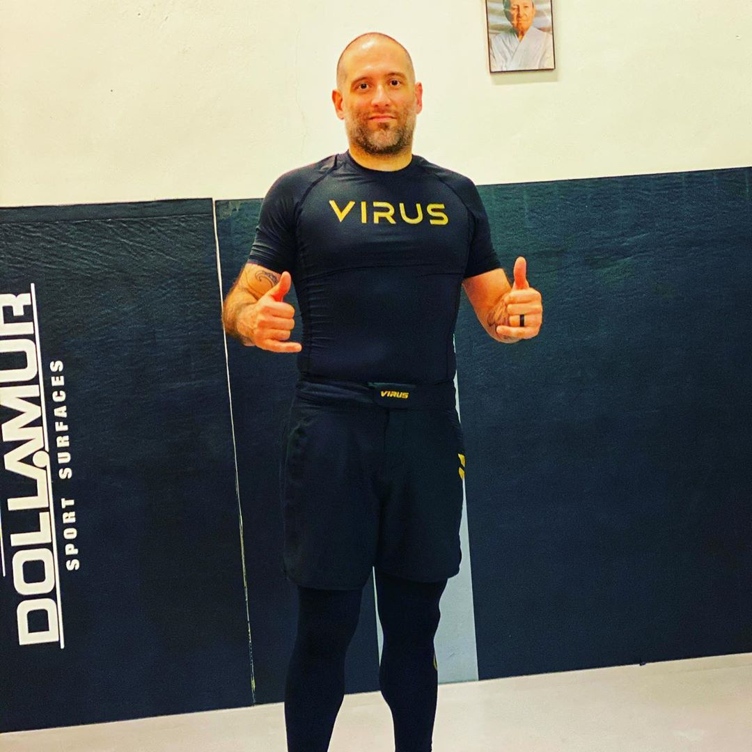 Virus Compression Gear for the win. Thank you, @virusintl, for sending out this training gear. Hands down the best compression gear I own comes from your team.