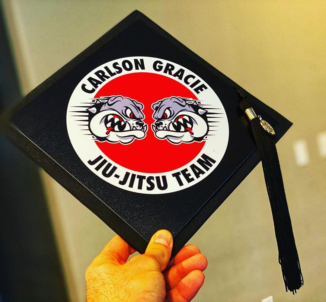 Decorated Graduation Cap.